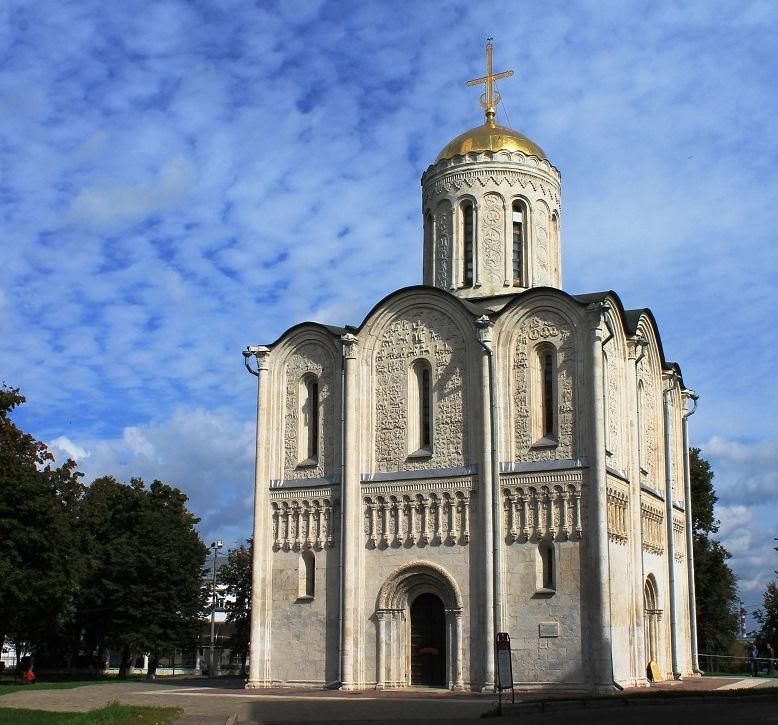 Город Владимир. Дмитриевский собор