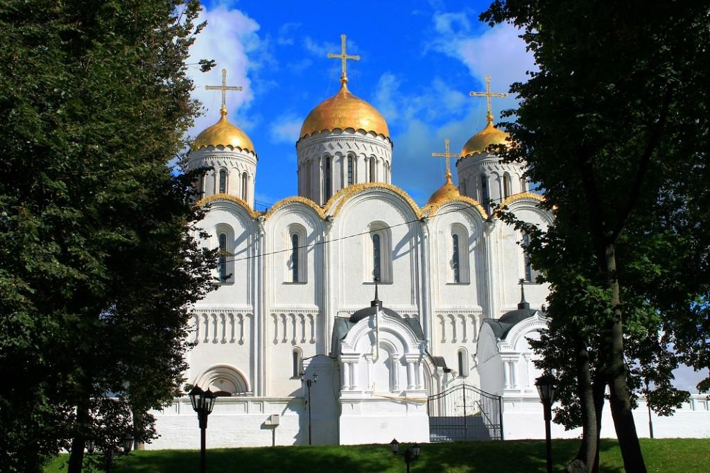Город Владимир. Успенский собор