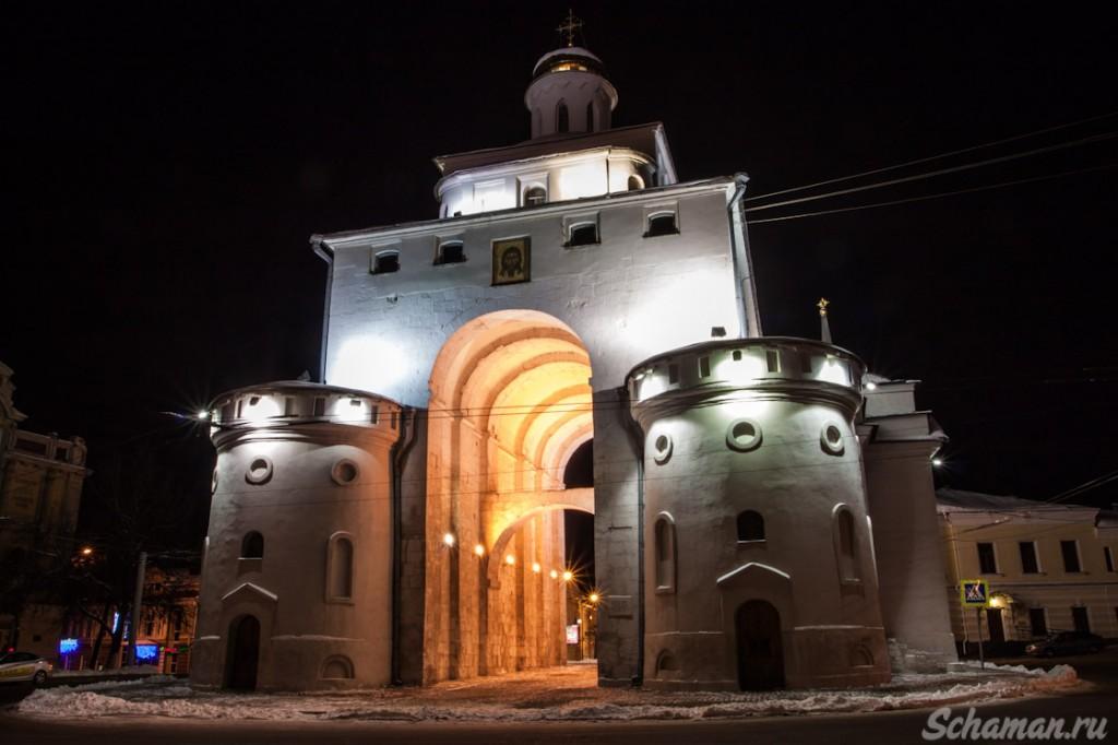 Золотые ворота во Владимире. Источник фотографии  - http://www.schaman.ru