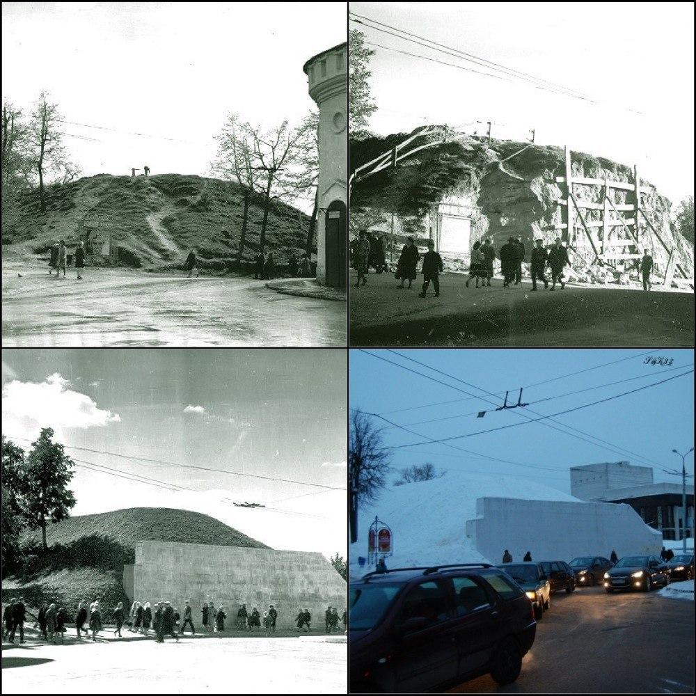 Козлов Вал во Владимире в разные времена
