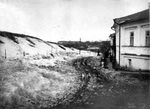 Троицкий вал и Боголюбовский переулок. Степанов Н.С