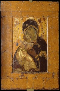 Владимирская (Вишгородская) икона Божией Матери