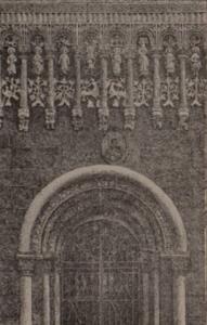 Нижняя часть южной стены Дмитриевского собора