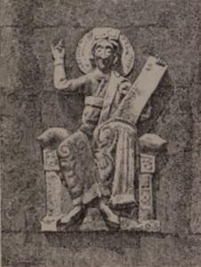 Рельеф на фасаде Дмитриевского собора во Владимире