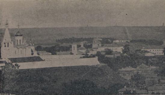 Богородице-Рождественский монастырь. Фотография XIX в.