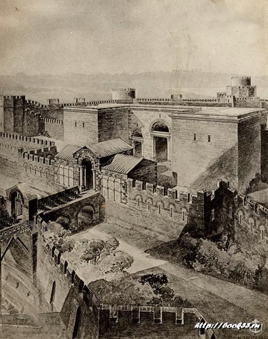 Золотые ворота Константинополя (Реконструкция)