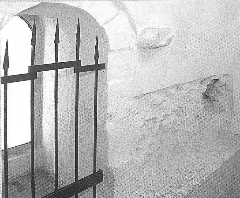 лл. 14. Забутовка белокаменной стены Золотых ворот