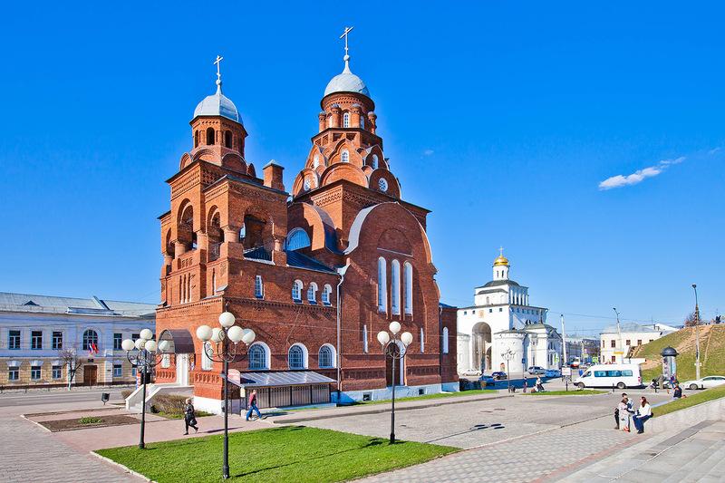 Бывшая старообрядческая Троицкая церковь во Владимире