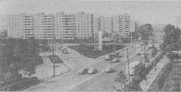 Город Владимир в советское время. Новостройки