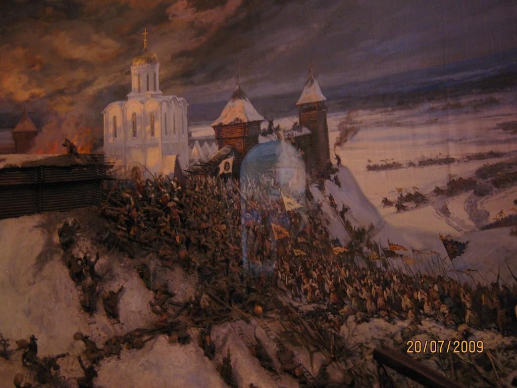 Экспозиция в Золотых Воротах. Автор фотографии - Ольга-Алёнушка