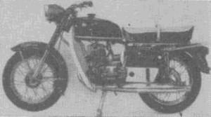 Дорожный мотоцикл «восход-2»