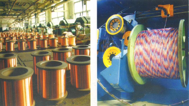 Производство на заводе Электрокабель. Кольчугино.