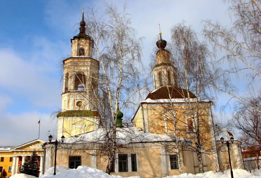 Владимир. Церковь Николая Чудотворца (Николо-Кремлевская).