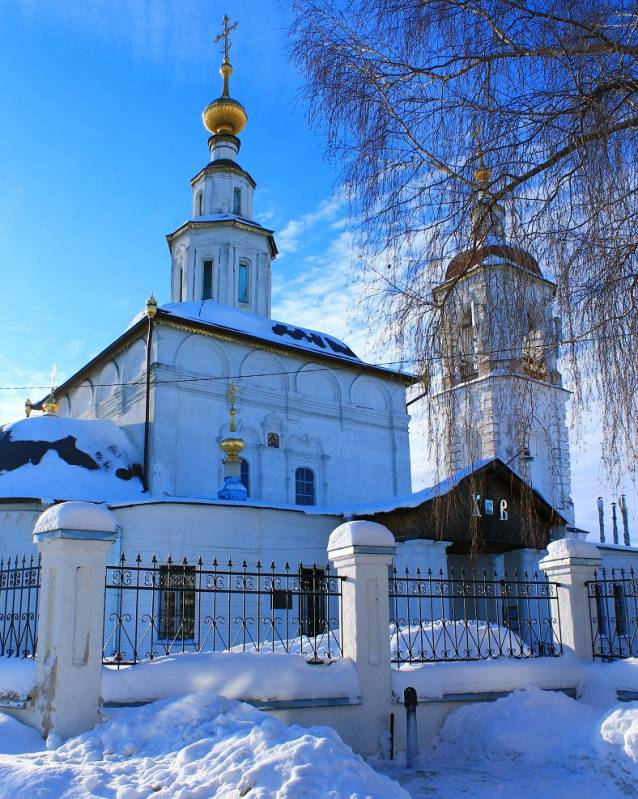 Вознесенская церковь (Владимир). Фотограф - Николай Тараканов