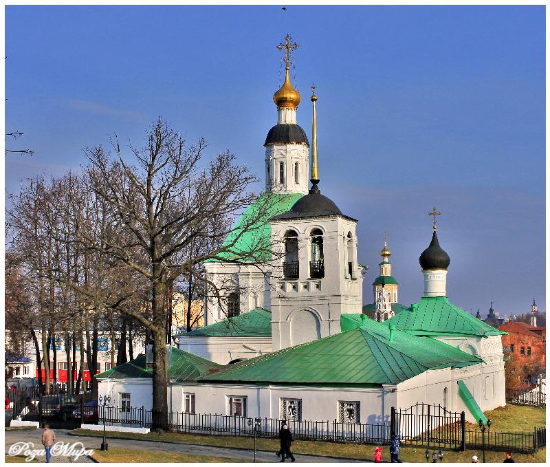 Спасо-Преображенский храм. Николай Тараканов