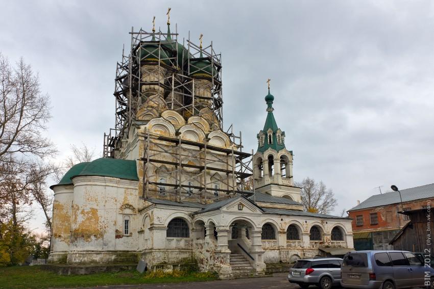 Церковь Успения Пресвятой Богородицы. Фотограф - Илья Бесхлебный