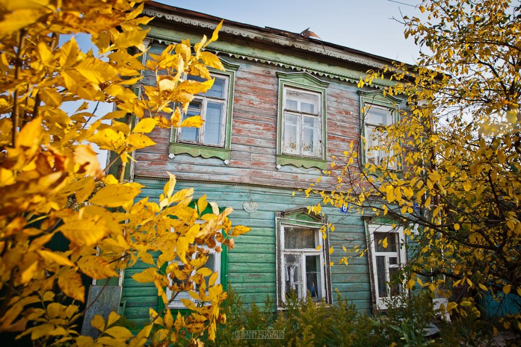 Улица Ильинская-Покатая во Владимире. Автор -  Владимир Чучадеев